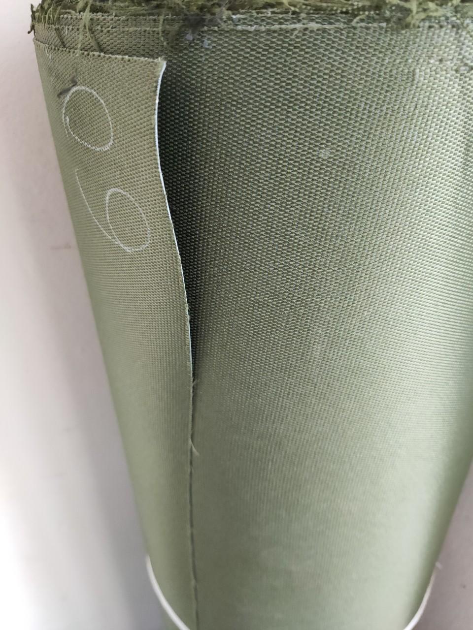 Vải bạt tráng nhựa PVC Màu Rêu