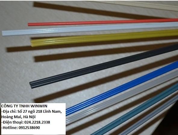 Que hàn nhựa PVC